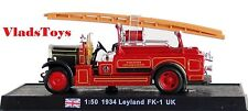 Amercom Fire Trucks 1:50 Leyland FK-1 Worcester England 1934 ACSF51