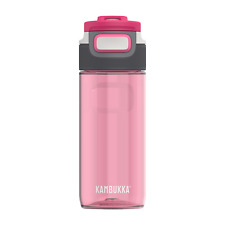 Kambukka Elton Water Bottle 500ml, Pearl Blush - BPA Free & 3-in-1 Snapclean Lid