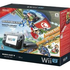 -*BRAND NEW*/- Wii U 32GB Console Deluxe Set With Mario Kart 8 And Bonus DLC!