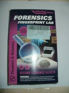 FORENSIC FINGERPRINT LAB EXPERIMENT KIT-IGNITION SERIES THAMES AND KOSMOS
