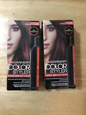 New Garnier Color Styler Intense Wash-Out Colour Red Temptation 50ml Lot of 2