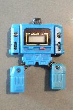 1980's Transformers robot quartz blue watch - Takara Chronoform
