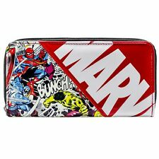 Official Marvel Avengers Characters Comic Style Red Coin & Card Purse *SECOND*