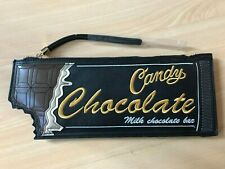 NEW LOOK CANDY MILK CHOCOLATE BAR CLUTCH BAG *NEW*
