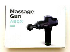 ABOX Percussion Massage Gun Handheld Muscle Massager Electric Deep Tissue New