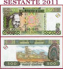 GUINEA - 500 FRANCS 1998 - P 36 - FDS / UNC