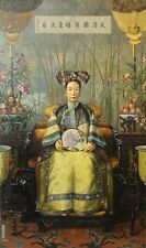 """perfact 24x48 oil painting handpainted on canvas"""" the Dowager Empress Cixi""""@3165"""