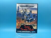 jeu video sega mega drive complet BE PAL super thunder blade