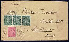 2997 YUGOSLAVIA TO CHILE COVER 1934 SELCE -CROATIA- TO SANTIAGO