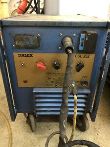 Dalex Schweißgerät CGL 252 Schweissen Werkzeug Werkstattbedarf