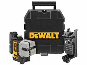 DeWalt DW089K 3 Way Self Levelling Cross Multi Line Red Laser Level,Clamp & Case