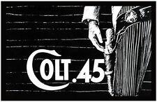 "COLT .45 TV LOGO POSTER. 11"" X 17"". WADE PRESTON AS CHRIS COLT"
