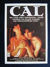 Filmplakatkarte cinema   Cal   Helen Mirren , John Lynch