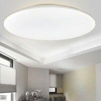 12-36W Round LED Ceiling Light Mount Home Fitting Bathroom Kitchen Living Lamp