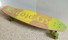 "KRYPTONICS Sun & Palm Trees 36"" Complete Longboard SKATEBOARD Great Condition!"