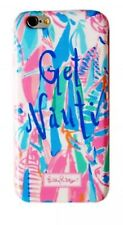 NWT Lilly Pulitzer OUT TO SEA Get Nauti Snap On Phone Case iPhone 6 6S PINK Blue