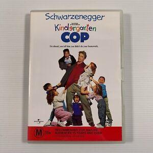 Kindergarten Cop (DVD, 2002) 1990 movie Arnold Schwarzenegger Region 4