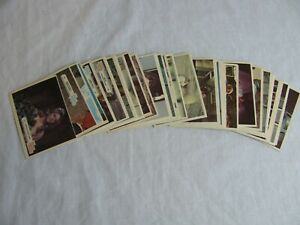 1976 DONRUSS BIONIC WOMAN SET OF 44 CARDS**LINDSEY WAGNER