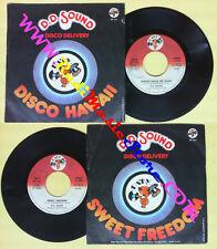 LP 45 7'' D.D.SOUND Disco hawaii calls me home Sweet freedom 1978  no cd mc dvd