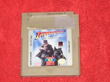 Indiana Jones Last Crusade Nintendo Game Boy Video Game