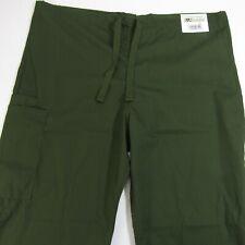 "Ua Scrubs Cargo Nurse Pants L New Olive Green Large Nwt 31"" Inseam"