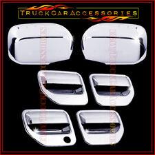 For HONDA Ridgeline 2006-2013 2014 Chrome Covers Set Full Mirrors+4 Doors w/o PK