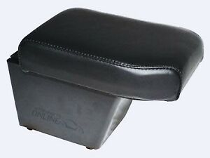 Land Rover Freelander 2 > 2012- RHD Front Arm Rest & Cubby Box ECO Black Leather