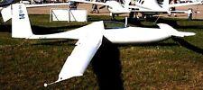 Solitaire Rutan 77 Motor Glider Airplane Wood Model Replica Big New