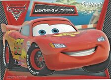 LIGHTNING McQUEEN DISNEY PIXAR CARS 2 FATHEAD TRADEABLES REMOVABLE STICKER 2011