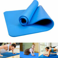 6/8/10mm Thick Durable Yoga Mat Non-slip Exercise Fitness Pad Mat Lose Weight