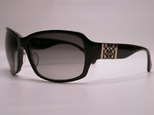 Authentic COACH Black and Gold Logo Designer Luxury Sunglasses Frames