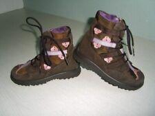 13. Traum Winter Stiefel RICOSTA Gr.25 braun rosa Blüten Leder-Mesch Sympatex