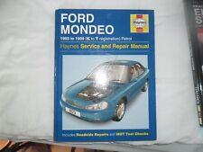 HAYNES MANUAL FORD MONDEO petrol 1999 mint