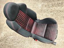 MITSUBISHI COLT CZT FRONT N/S PASSENGER LEFT BUCKET SEAT BLACK RED .