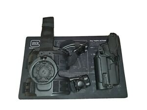 UK Armed Police Radar 1957 Glock 17 Lvl3 RH Tactical Holster & Leg Platform