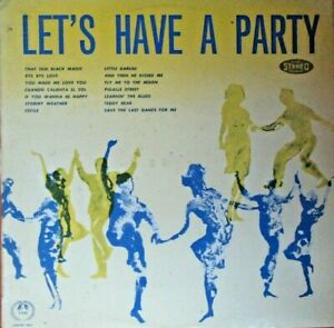 "Let's Have A Party (Concert Hall) - 12"" Vinyl LP Record. Authentic & Original"