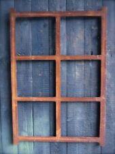 Eisenfenster, Eckiges Fenster aus Gusseisen, Stallfenster, wie antik, NEU