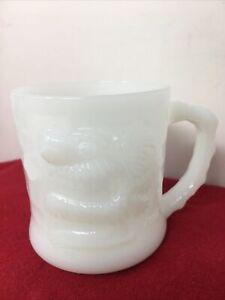 Vintage Grog White Milk Glass Coffee Mug MINT CONDITION /APPEARS UNUSED