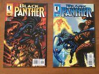 Black Panther #2,3 (1998 2nd Series Marvel Comics) Fantastic Four