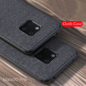 For Huawei Mate 20 Pro P30 P40 Pro P20Lite Leather Fabric Shockproofr Case Cover