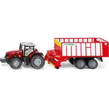 Siku - Massey-Ferguson with Jumbo Pottinger 1:50 Scale - Toy Farm Vehicle NEW