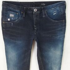 Ladies Womens G-Star ARC 3D SUPER SKINNY Stretch Blue Jeans W30 L32 UK Size 10
