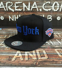 "New York Knicks M&N ""Gothic City"" NBA Adjustable Snapback"