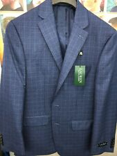 Lauren Ralph Lauren Blazer Men's Sport Coat Jacket Royal Blue Size 40 Regular