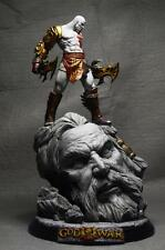 "God of War 10"" Kratos Battle Resin Statue New"