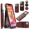 For iPhone 11 Pro Max XR XS 8 7 5S Magnetic Leather Case Wallet Flip Stand Cover