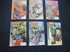 Ultimate Wolverine Vs. Hulk #1 to #6 - 2006, highgrade, NM