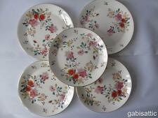 5 x Royal Albert China Garden New Romance Dessert Salad Plates 8""