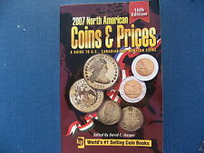 2007 North American guide to Coins & Prices to US, Canadian & Mexican Coins.