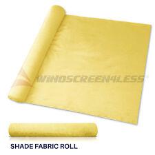 Custom 8 Ft Canary Yellow Fabric Roll Fence Privacy Sun Wind Screen Uv Blocktop